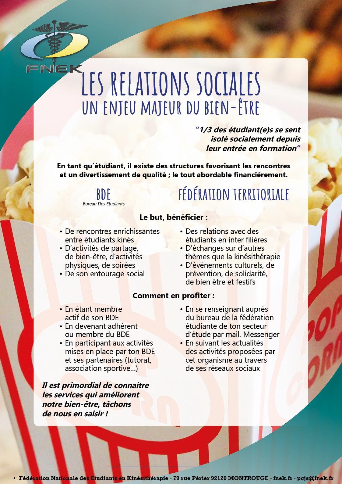 Relations Sociales