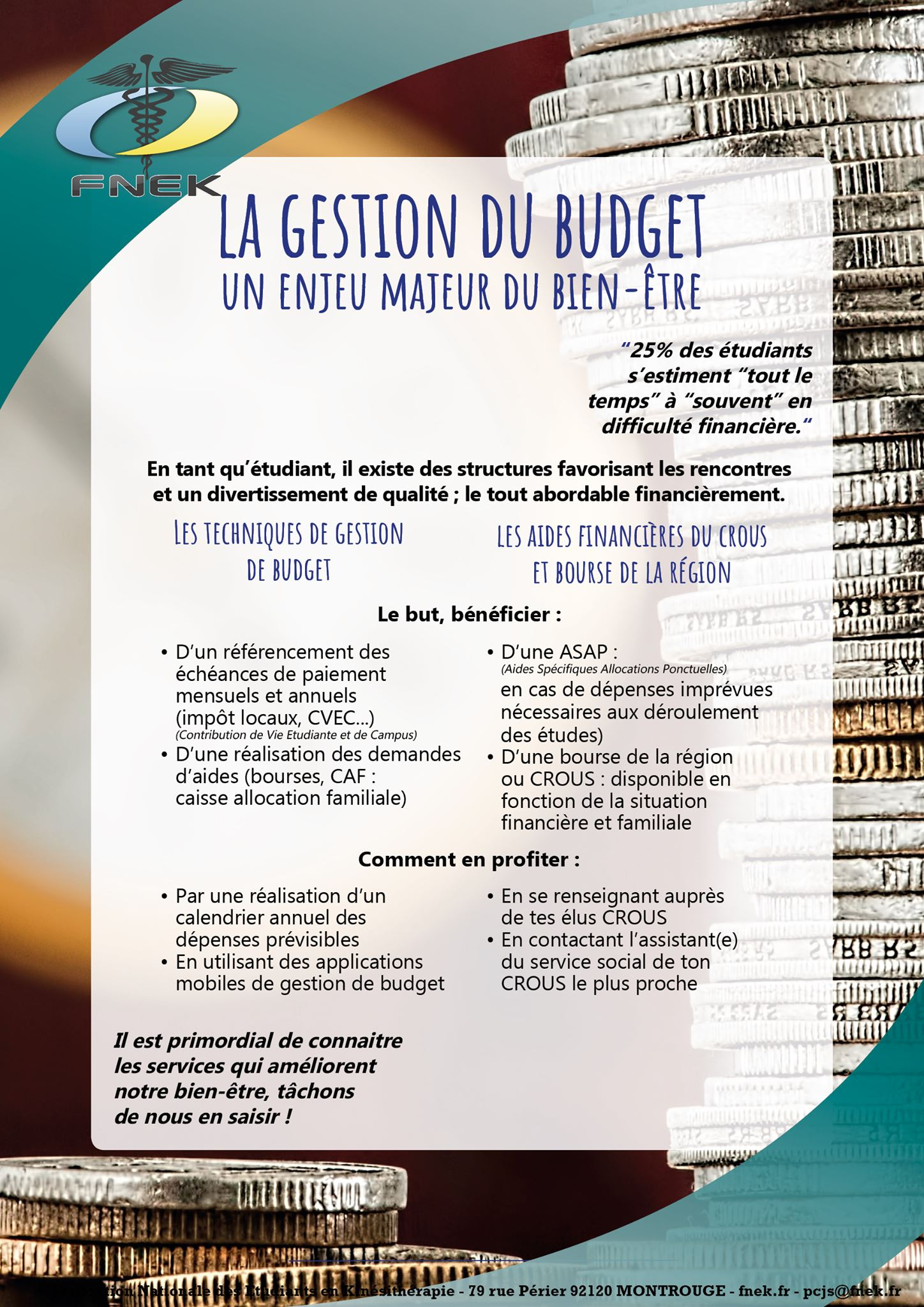 Gestion du budget